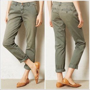 Pilcro & The Letterpress Green Hyphen Chino Pants